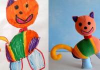 Виготовлення іграшок на основі дитячих малюнків