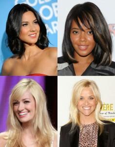 Дівчата з трикутним типом обличчя