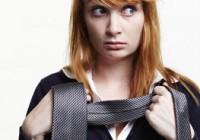 Жіночий галстук. Вибір стильної модниці